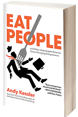 Eat people image as a book