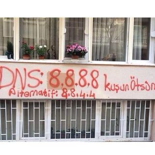 Turkey DNS Graffiti